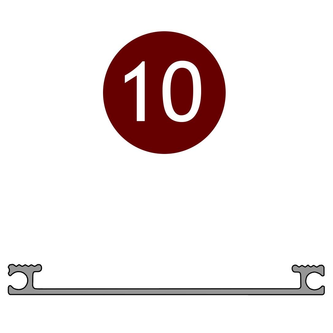 Alutrend Compact 10 profile