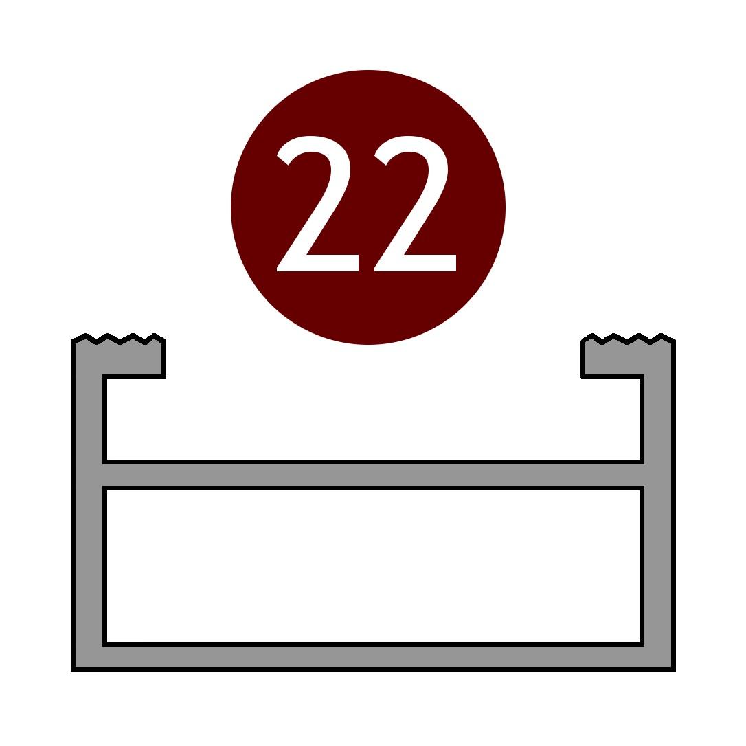 Alutrend Maxi 22 profile